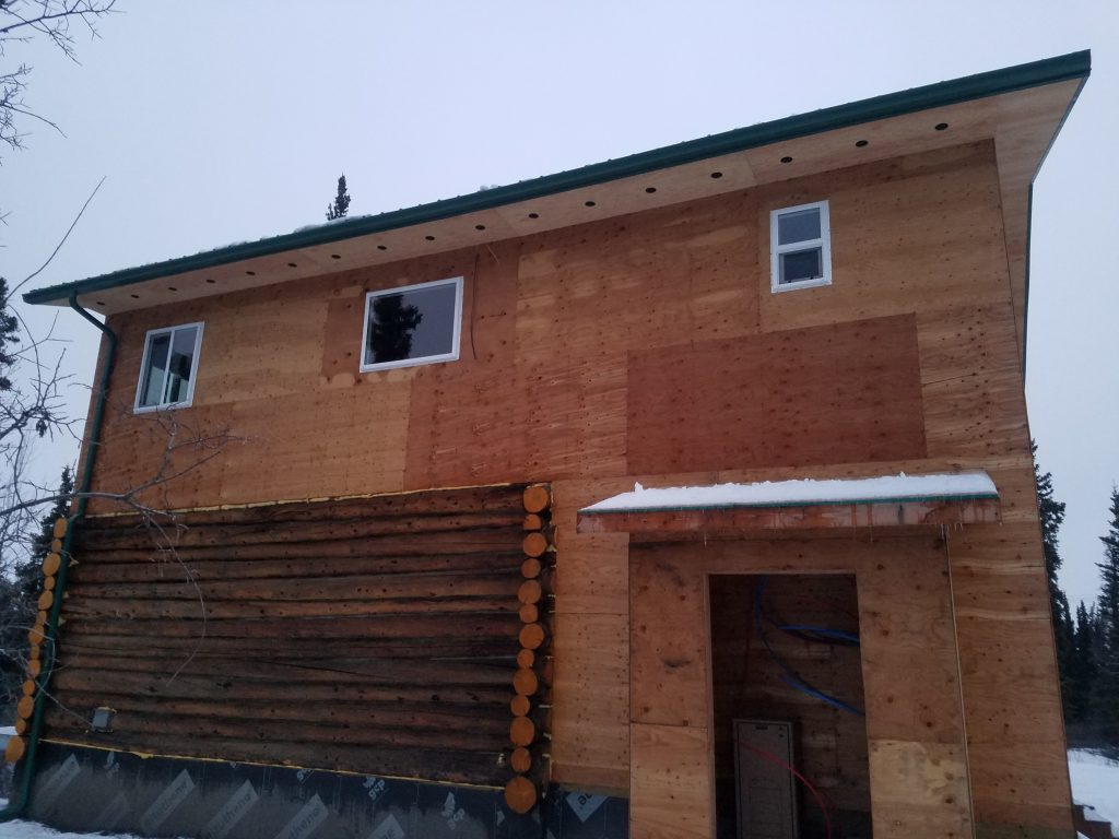 House needing to be sided